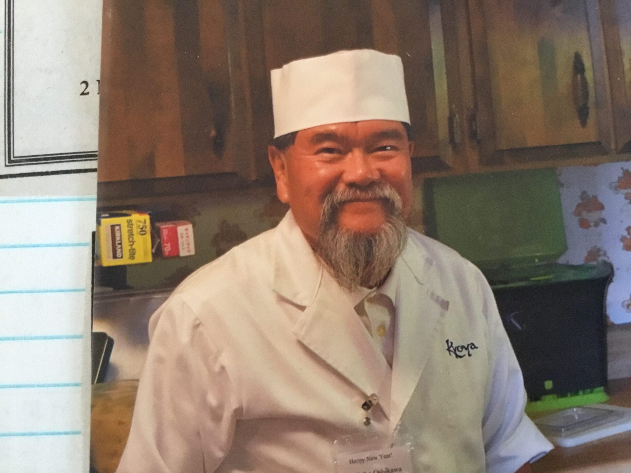 Our friend: Chef. Mr. Kunihiko Oshikawa