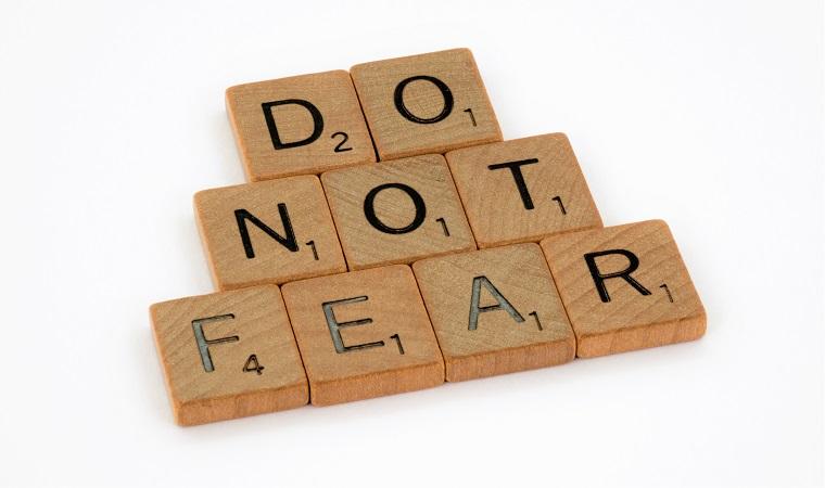 "Message: ""Do not be afraid."""